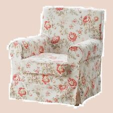 IKEA Ektorp BYVIK Jennylund Armchair Cover MultiColor Floral Chair Slipcover NEW