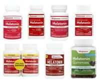Melatonin 1mg 3mg 5mg 10mg Quick Dissolve, Gummy, Tablets Walgreens