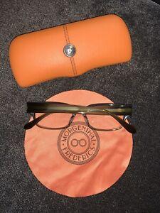 Morgenthal Frederics Ralphie Eyeglasses With Prescription Lens - W/ Box & Cloth