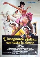 manifesto movie poster 2F L'insegnante balla con tutta la classe banfi vitali