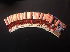 CLOSE OUT---1998 UPPER DECK-MARK MCGUIRE CHASE FOR 62-FULL SET #1-#30