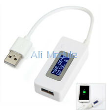 LCD Voltage&Current Detector Battery Capacity Power USB Charger Tester Meter AM