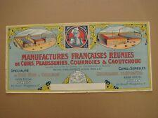 ANCIENNE PUBLICITE MANUFACTURE FRANCAISE -CHEVALIER BAYARD-CHATEAURENAULT-ROMANS