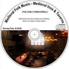 Medieval Folk Music - Medieval Inns & Taverns | Folk, Celtic, Tradition Audio CD