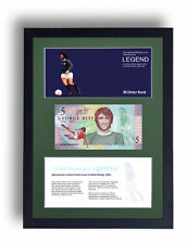 NORTHERN IRELAND LIMITED EDITION FRAMED GEORGE BEST £5 POUND NOTE FIVER GIFT