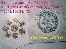 2012 8 monete 3,88 euro fdc Irlanda BU irlande ireland EIRE Year Your Baby Birth