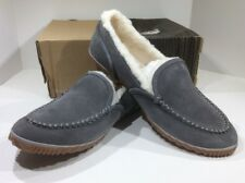 SOREL Tremblant Women's Size 12 Gray Fur Lined Moc Slipper Shoe XB-77