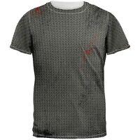 Grey /& Orange Camo All Over Adult T-Shirt