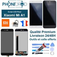 Écran complet LCD + tactile Xiaomi MI A1 + Outils et colle, stock FR