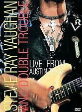 Stevie Ray Vaughan Live from Austin, Texas DVD WITH CASE & ART BUY 2 GET 1 FREE