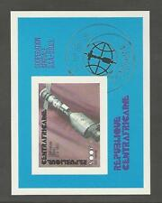 Central Africa, Postage Stamp, #C138 Imperf Mint NH Sheet, 1976 Space