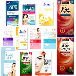 Beauty Legs and Body,Face, Bikini Hair Removing Ready to Use Waxing Strips