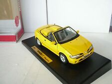 ANSON-AS0342Y-RENAULT-MEGANE-CONVERTIBLE-1996-YELLOW-1-18 N M BOXED