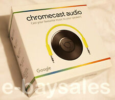 Rare Authentique Officiel Neuf Scellé Google Chromecast audio sans fil wifi streaming