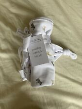 The Little White Company Swaddling Blanket And Hat Set. New Tagged Newborn