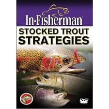 NEW Stocked Trout Strategies In-Fisherman Tutorial Fishing DVD Video