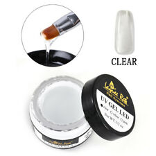 Clear/Pink/White Quick Builder Gel Nail Art Building Extension UV Gel Glue New