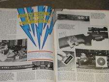 GUNS & AMMO TEST TCR 83, SAV 110, AMT 24, REM 700 IN 375 & KRICO ELECTRONIC RIFL