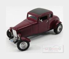 Ford Usa Five Window Coupe Custom 1932 Purple Met MOTORMAX 1:18 MTM73171PM