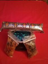 Incense Burner Kit Frankincense+3KingsResin +Burner and more