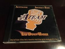 The A-Team Lab Down Under CD Aceyalone Abstract Rude Moka Only Fat Jack DJ Drez