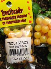 Troutbeads 10 mm Egg Yolk 1 Pack