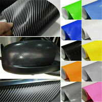4D Carbon Fiber Vinyl Car Truck Wrap Sheet Film Sticker Decal Roll  Decals