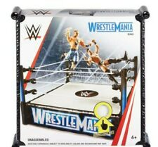 "WWE Wrestlemania Superstar 14"" Wrestling Ring new boxed"