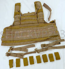Eagle Industries RRV Chest Rig Rhodesian Recon SFLCS MJK Khaki NEW Complete MLCS