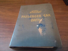 1949 Ford DATA BOOK / Rare Dealer-only Book