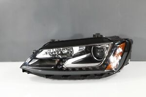 2015-2017 Volkswagen VW Jetta Left LH Driver LED Headlight Complete OEM 15 16 17