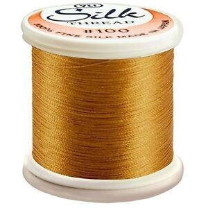 Kanagawa / YLI 100% and #100 Silk Thread [ 241 - Dull Gold ]