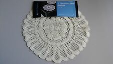 *** New Lot of 2 Luxurious Lace Doilies. 14