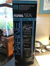 """New listing Fluval Sea - Marine Spectrum Bluetooth Led 25000K 22 Watts - 15"""" to 24"""""""