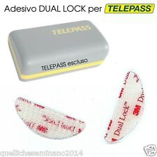 ADESIVO TELEPASS  3M DUAL LOCK- -BIADESIVO - FISSAGGIO 1 PEZZO  SINGOLO original