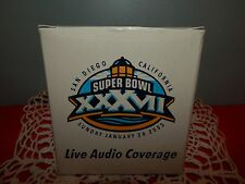 SUPER BOWL XXXVII SAN DIEGO LIVE AUDIO COVERAGE ~RAIDO~