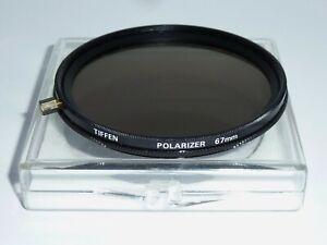 Tiffen  Polfilter linear   E67   67mm