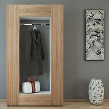 Dielenschrank MATS - Wandschrank Flur Diele Schuhregal Kleiderhaken Wandpaneel