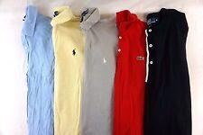 Lacoste/Ralph Lauren Lot of 5 Men's Short Sleeve Polo Shirts Medium M DD13848