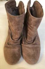 Sugar Tula Shoes Cowboy Tan Women's Ankle Boots Bootie Size  7M