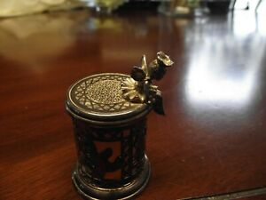 Vtg Lunt Silversmith Tooth Fairy Trinket Box