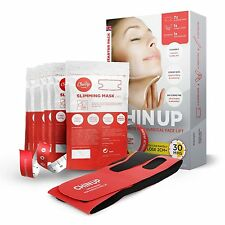 7pcs Chin Cheek Lift Up Slimming Slim Mask Thin Belt Strap Band V Face CU1