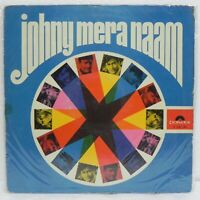 Johny Mera Naam LP Record Bollywood Kishore Asha Lata Rare Vinyl 1970 Indian