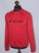 CCM mens ice hockey sport training red jumper Size S