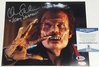 CHRIS SARANDON Signed Fright Night 8x10 Photo Jerry Dandridge ~ Beckett BAS COA