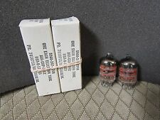 MATCHED PAIR OF JAN RAYTHEON 5842 417A WINDMILL GETTER VACUUM TUBES