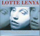 LOTTE LENYA SINGS KURT WEILL & BERTOLT BRECHT - 3 CD BOX SET