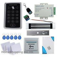 RFID Card+Password Door Access Control System with Magnetic Lock+Remote Control