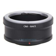 OM-M4/3 Adapter Ring for Olympus OM Lens to MICRO43 Camera OM-D E-M5 E-PM2 Mount