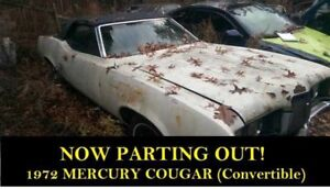 Convertible Top Motor for 71-73 Mercury Cougar